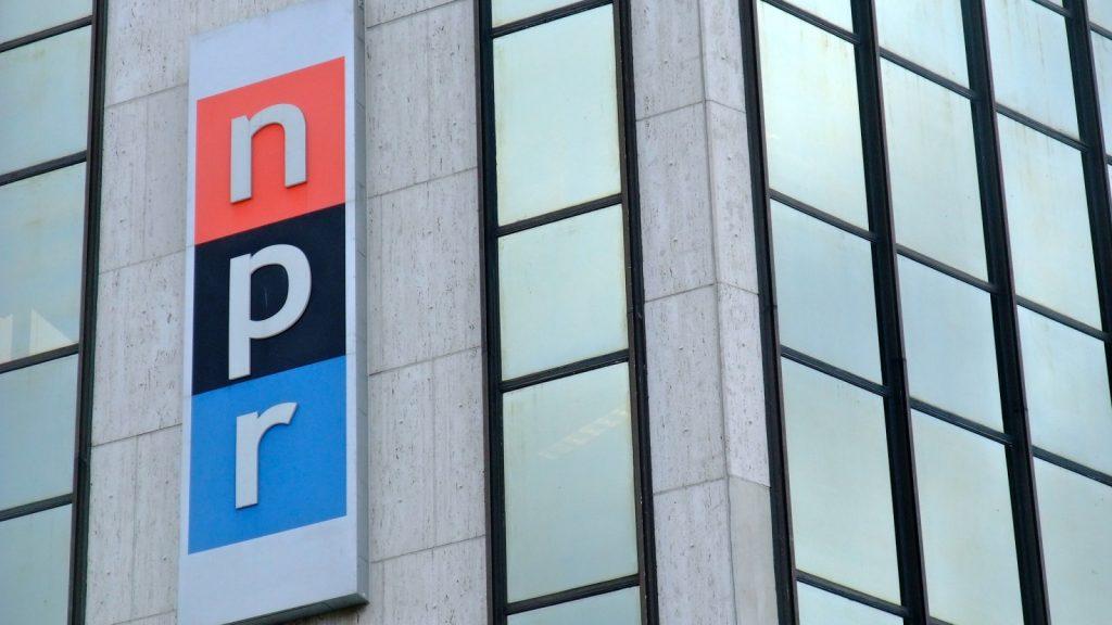 NPR sign