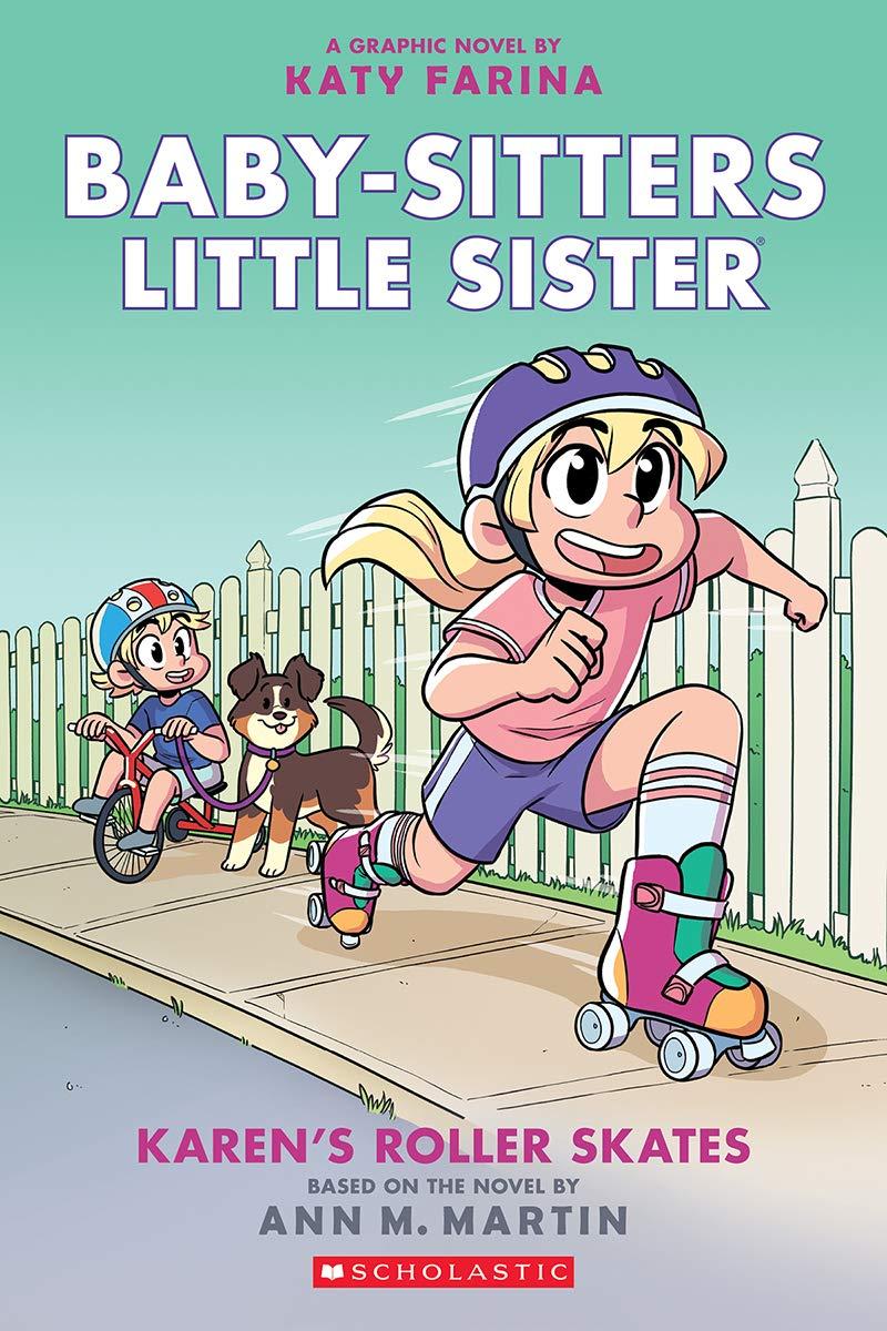 Baby-Sitters Little Sister: Karen's Roller Skates cover