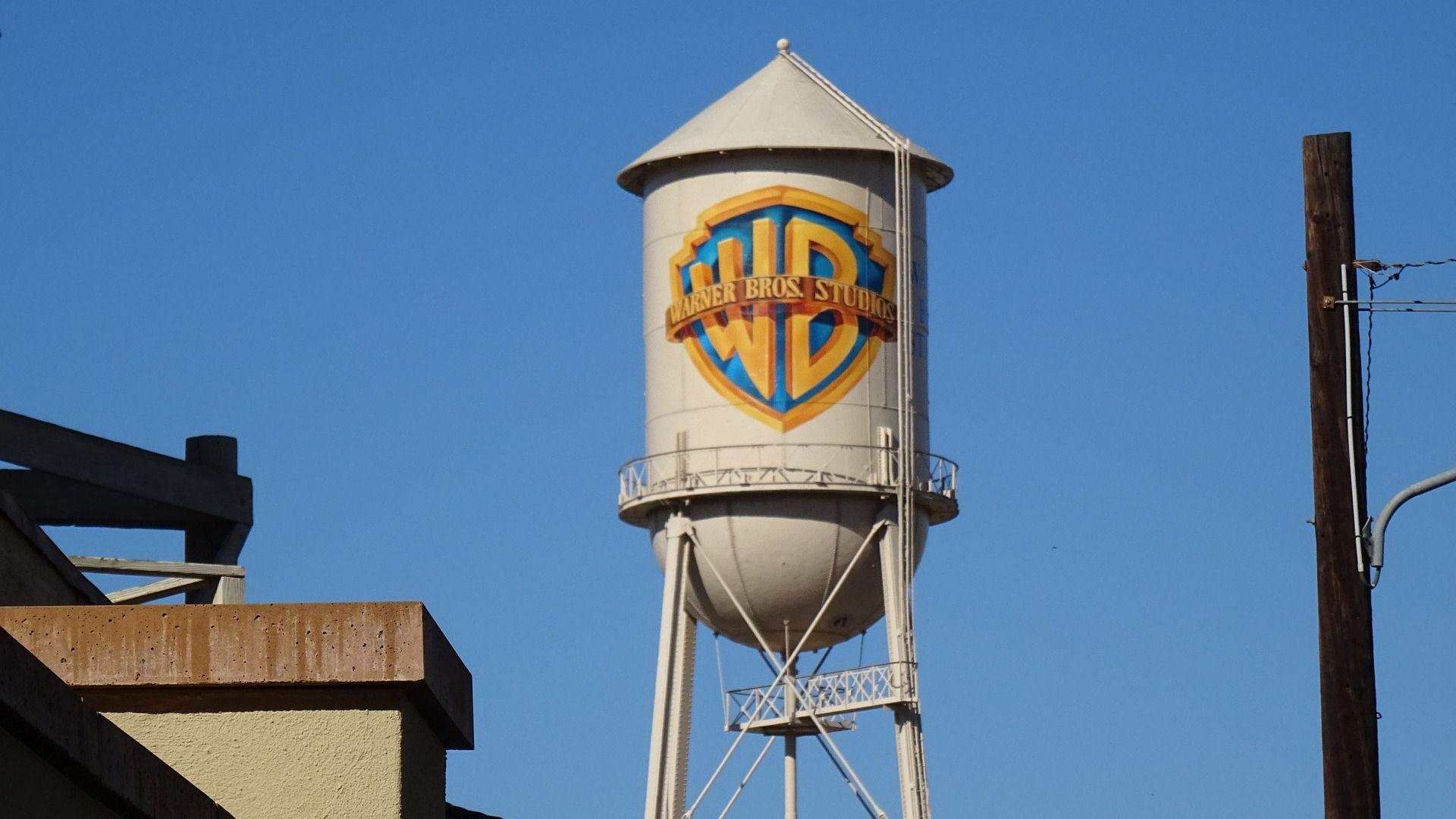 The Warner Bros. Studio water tower