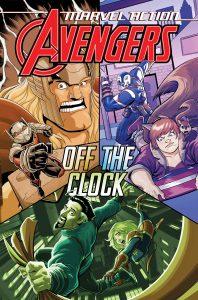 Marvel Action Avengers cover