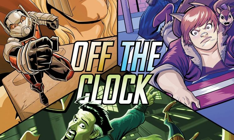 Marvel Action Avengers Off the Clock