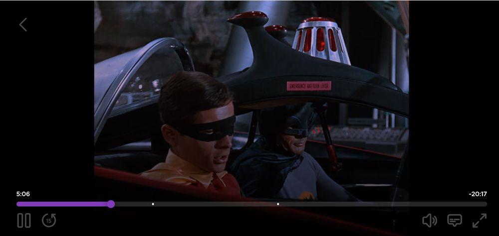 Batman '66 on Roku Channel