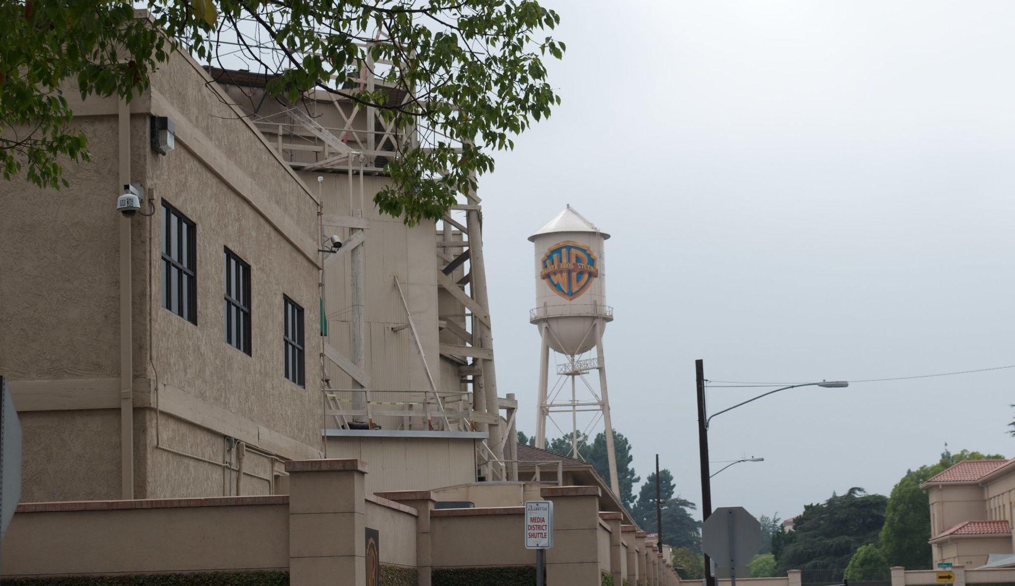 Warner Bros. water tower