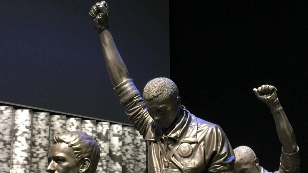 1968 Olympics Black Power statues