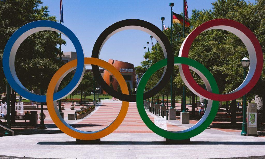Atlanta park Olympic rings