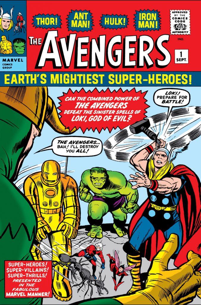 Avengers #1 cover