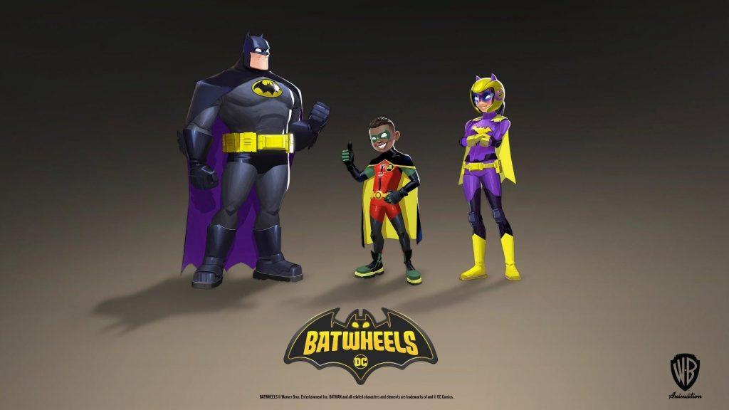 Batwheels human cast