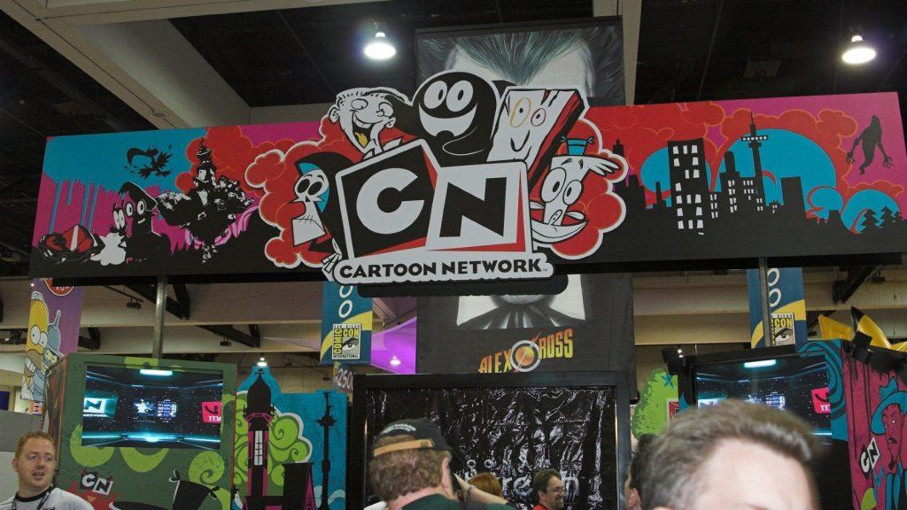 Cartoon Network booth