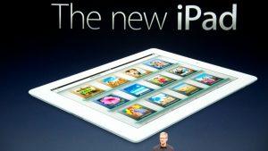 iPad keynote with Tim Cook