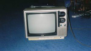 CRT TV set